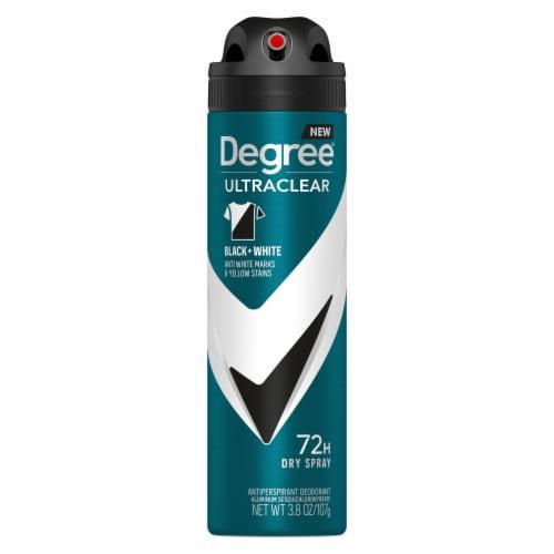 Degree Men UltraClear Black + White Antiperspirant Deodorant Dry Spray Perspective: back