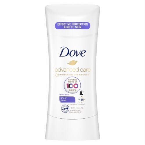 Dove Advanced Care Sheer Fresh Invisible Solid Antiperspirant & Deodorant Perspective: back