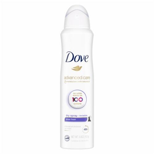 Dove Women Sheer Fresh Antiperspirant Dry Spray Perspective: back