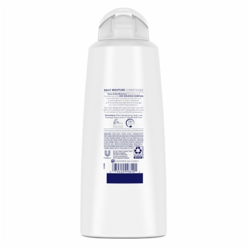 Dove Nutritive Solutions Daily Moisture Conditioner with Pro-Moisture Complex for Normal to Dry Hair Perspective: back
