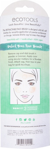 Ecotools Retractable Face Brush Perspective: back