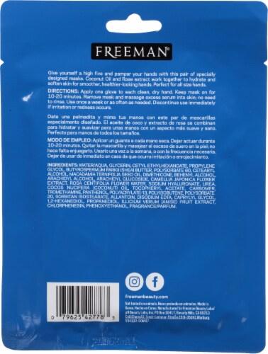 Freeman Silky Hands Sheet Mask Perspective: back