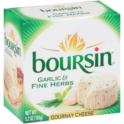 Boursin® Garlic & Fine Herb Gournay Cheese Perspective: back