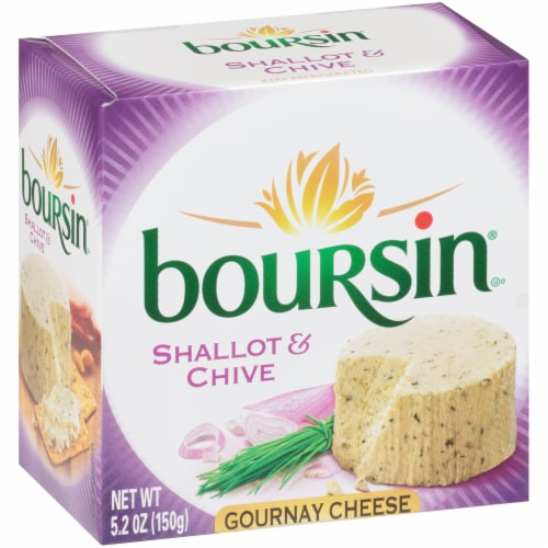 Boursin® Shallot & Chive Gournay Cheese Perspective: back