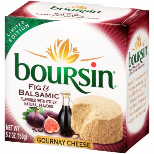Boursin® Fig Balsamic Cheese Perspective: back