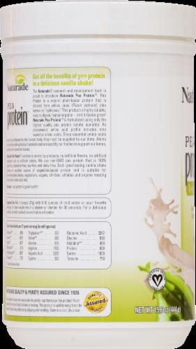 Naturade Pea Protein Vegan Shake Vanilla Perspective: back