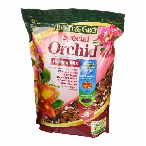 Sun Bulb Better-Gro Special Orchid Flower Potting Mix Garden Soil, 8 Quarts Perspective: back