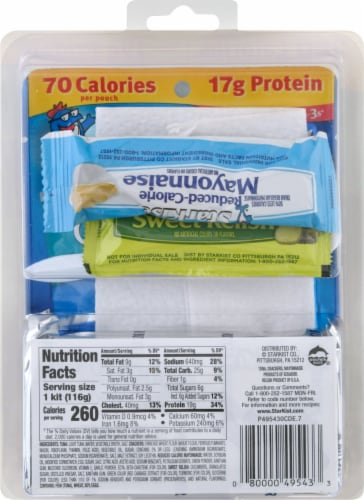 StarKist® Chunk Light Tuna in Water Lunch to Go Kit Perspective: back