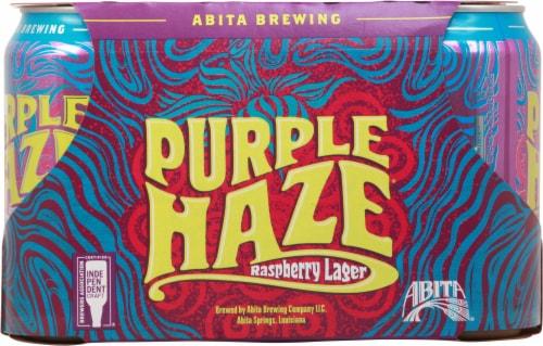 Abita® Brewing Purple Haze Raspberry Lager Perspective: back