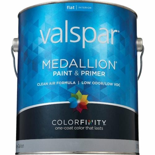 Valspar Int Flat Clear Bs Paint 027.0001405.007 Perspective: back