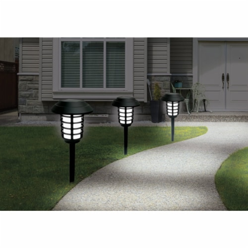 Bell+Howell® Solar Powered Pathway Lights Perspective: back