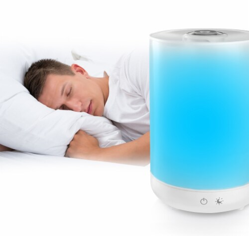 Bell + Howell Top Fill Ultrasonic Color Changing Humidifier Perspective: back