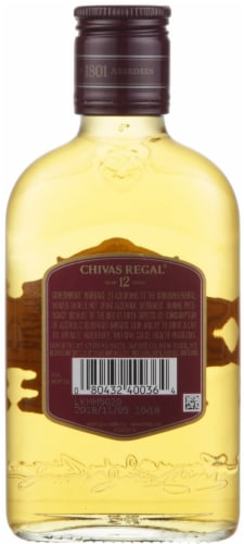 Chivas Regal 12 Year Blended Scotch Whisky Perspective: back