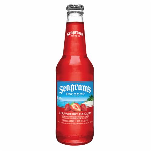 Seagram's Escapes Strawberry Daiquiri Flavored Malt Beverage Perspective: back