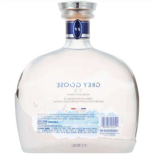 Grey Goose V X Vodka Perspective: back