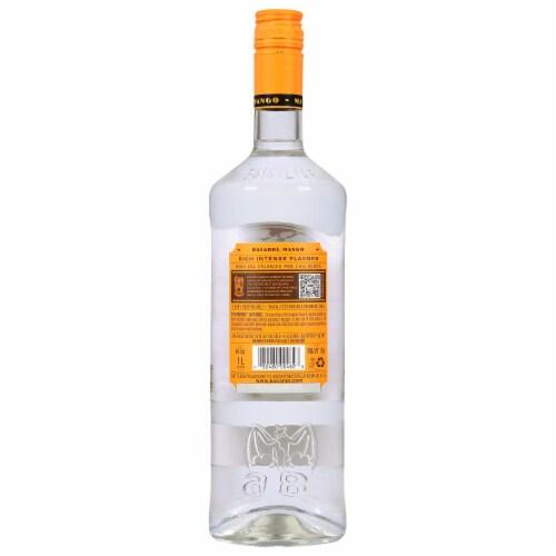 Bacardi Mango Rum Perspective: back