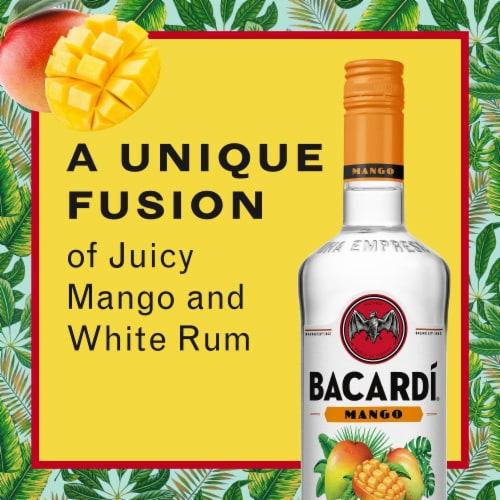 Bacardi® Mango Rum Perspective: back