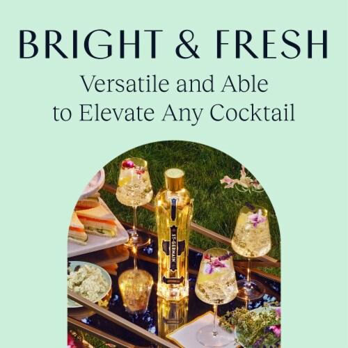 St. Germain Elderflower Liquor Perspective: back