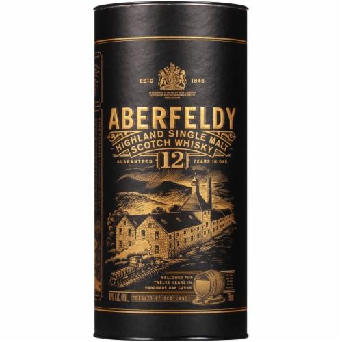Aberfeldy 12 Year Highland Single Malt Scotch Whisky Perspective: back