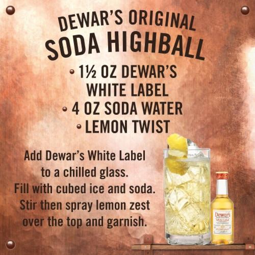 Dewar's® White Label Blended Scotch Whisky Perspective: back