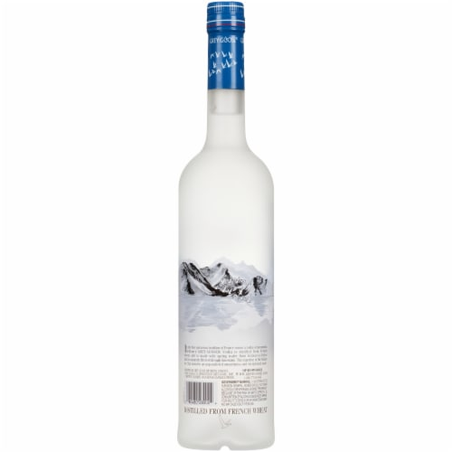 Grey Goose Original Vodka Perspective: back