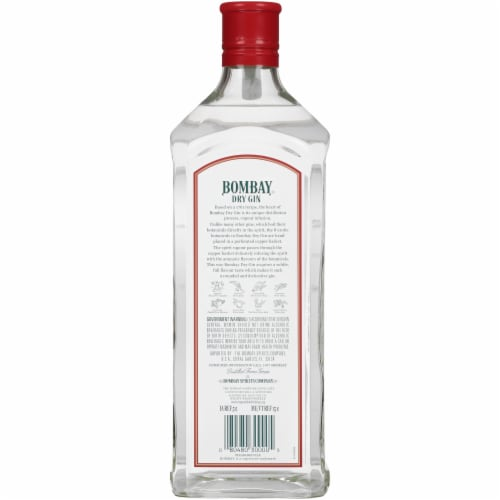 Bombay Gin Dry Gin Perspective: back