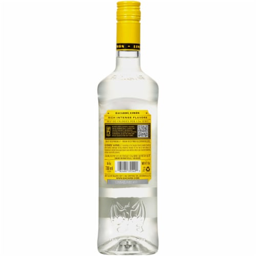 Bacardi Limon Rum Perspective: back