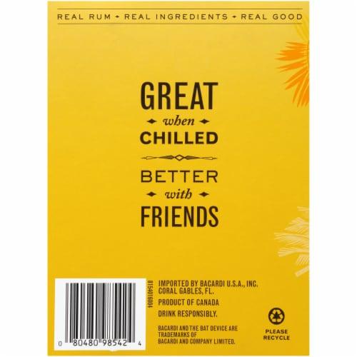 Bacardi® Limon & Lemonade Real Rum Cocktails Perspective: back