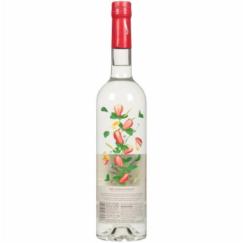 Grey Goose Strawberry & Lemongrass Vodka Perspective: back