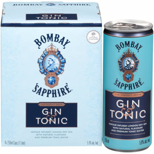 Bombay Sapphire Gin & Tonic Perspective: back