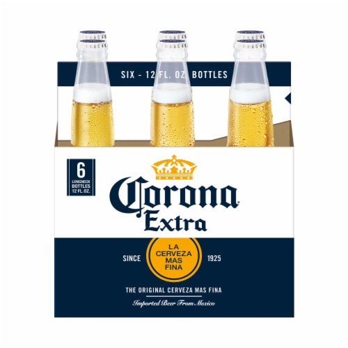 Corona Extra Mexican Lager Beer Perspective: back