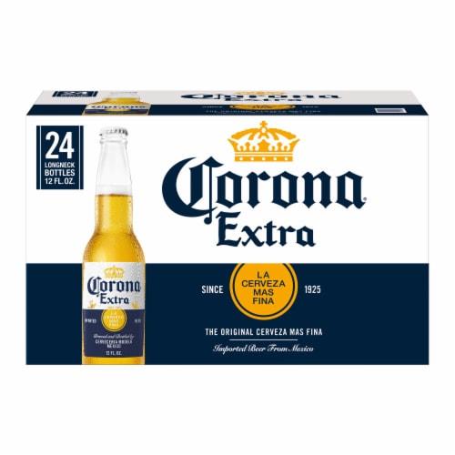 Corona Extra Beer Perspective: back