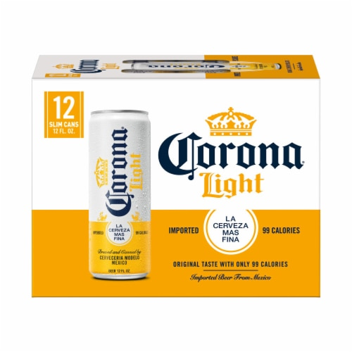 Corona® Light Lager Beer Perspective: back