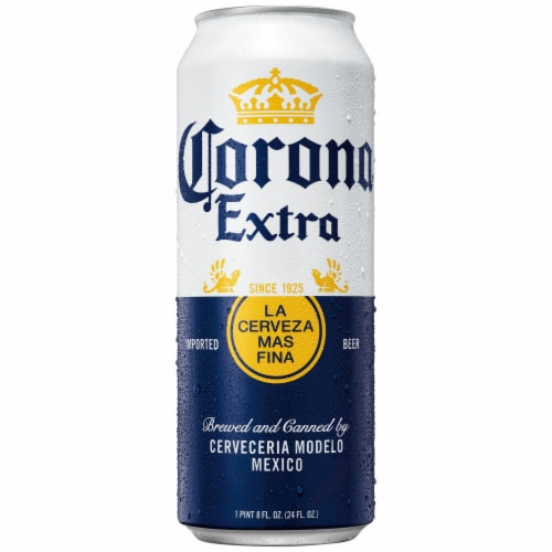 Corona Extra Imported Beer Perspective: back