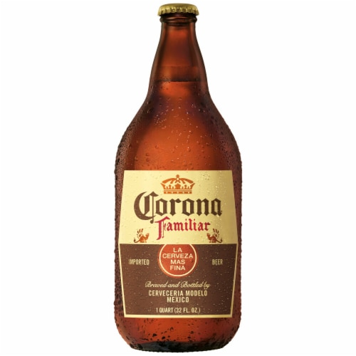 Corona Familiar Lager Import Beer Perspective: back