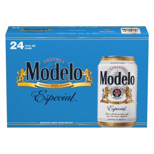 Modelo Especial Mexican Lager Beer Perspective: back