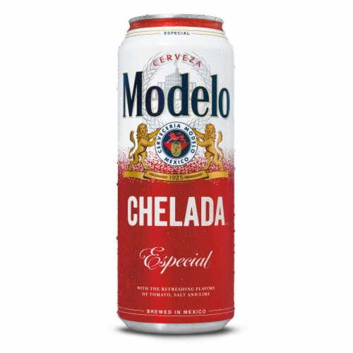 Modelo Especial Chelada Imported Beer Perspective: back