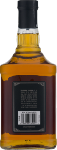 Jim Beam Black Extra-Aged Kentucky Straight Bourbon Whiskey Perspective: back