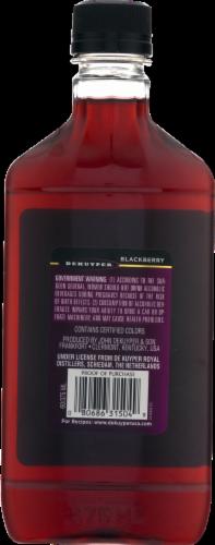 DeKuyper Blackberry Flavored Brandy Perspective: back