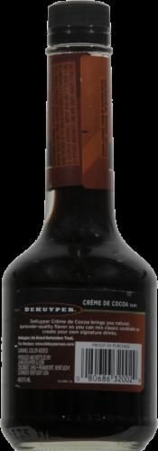 DeKuyper Crème De Cocoa Dark Liqueur Perspective: back