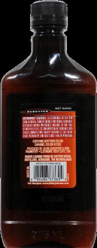 DeKuyper Hot Damn! Cinnamon Schnapps Liqueur Perspective: back