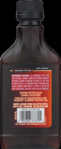 DeKuyper Hot Damn Hot Cinnamon Schnapps Liqueur Perspective: back
