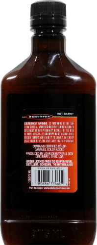 DeKuyper Hot Damn! Cinnamon Schnapps 100 Proof Liqueur Perspective: back