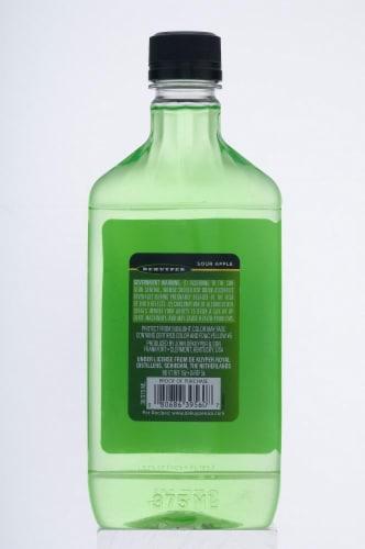 DeKuyper Pucker Sour Apple Schnapps Liqueur Perspective: back