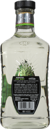 Hornitos Lime Shot Tequila Perspective: back