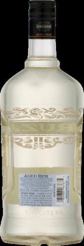 Cruzan Aged Light Rum Perspective: back