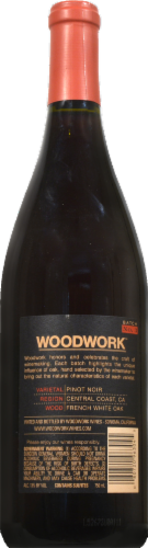 Woodwork Pinot Noir Perspective: back