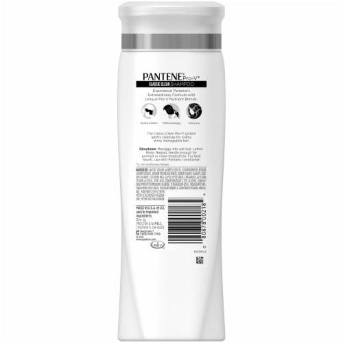 Pantene Pro-V Classic Clean Shampoo Perspective: back