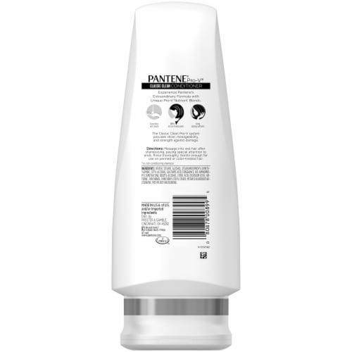 Pantene Pro-V Classic Clean Conditioner Perspective: back