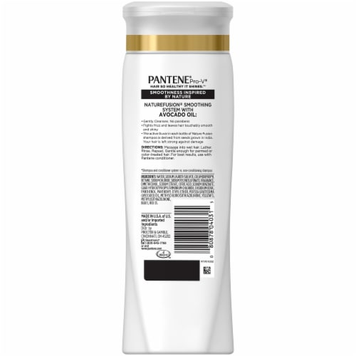 Pantene Nature Fusion Soothing Shampoo Perspective: back